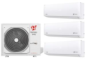 Мульти сплит система на 3 комнаты Royal Clima 3RFM-21HN / RCI-PM09HN - 3 шт.