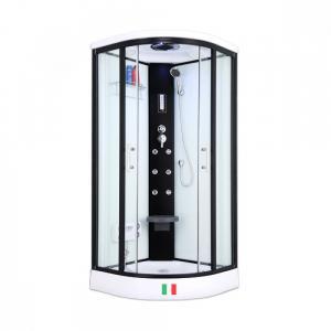 Душевая кабина Maroni Corsica WBLA-025S 90х90 прозрачное стекло с гидромассажем