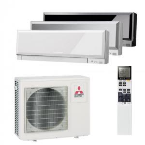 Мульти сплит система на 3 комнаты Mitsubishi Electric MXZ-3E54 VA / MSZ-EF22 VE (B/W/S) - 3 шт.