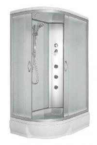 Душевая кабина River Desna 100/80/26 МТ R матовое стекло с гидромассажем