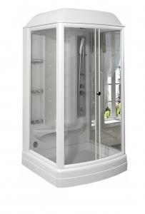 Душевая кабина Radomir Диана 1 118х108 с паром и гидромассажем прозрачное стекло