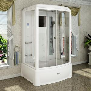Душевая кабина Radomir Диана 2 139х108 с паром и гидромассажем прозрачное стекло