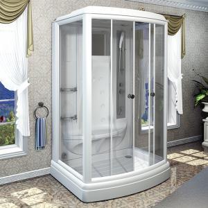 Душевая кабина Radomir Диана 3 140х108 с гидромассажем и паром матовое стекло