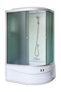 Душевая кабина Maroni Lombardia WDASL-016T 120х80 тонированное стекло левая
