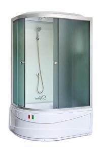 Душевая кабина Maroni Lombardia WDASR-016T 120х80 тонированное стекло правая