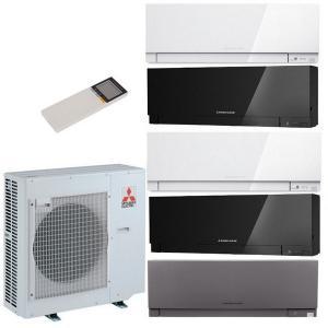 Мульти сплит система на 5 комнат Mitsubishi Electric MXZ-5E102 VA / MSZ-EF22 VE (B/W/S) - 5 шт.