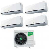 Мульти сплит система на 4 комнаты Ballu B4OI-FM/out-28HN1 / BSEI-FM/in-07HN1 - 4 шт.