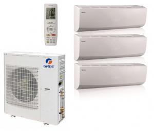 Мульти сплит система на 3 комнаты Gree GWHD(21)NK3MO(LCLH) / GWH(07)QB-K3DNC2G/I 3 шт.