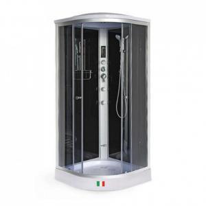 Душевая кабина Maroni Ferrara BLR-011T 90х90 тонированное стекло с гидромассажем
