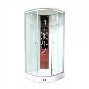 Душевая кабина Maroni Livorno LVD-077M 90х90 матовое стекло, гидромассаж