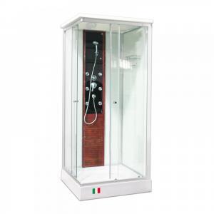 Душевая кабина Maroni Livorno LVL-077M 90х90 матовое стекло, гидромассаж