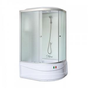 Душевая кабина Maroni Lombardia WDASL-016M 120х80 матовое стекло левая