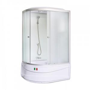 Душевая кабина Maroni Lombardia WDASR-016M 120х80 матовое стекло правая
