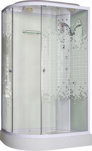 Душевая кабина Niagara NG-303 R прозрачное стекло с мозаикой