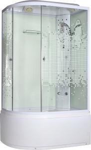 Душевая кабина Niagara NG-310 R прозрачное стекло с мозаикой