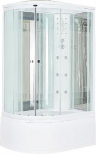 Душевая кабина Niagara NG-710 R прозрачное стекло с полоской