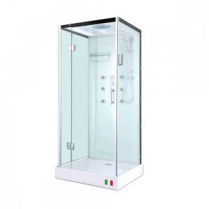 Душевая кабина Maroni Ravenna WLA-031S 90х90 прозрачное стекло с гидромассажем