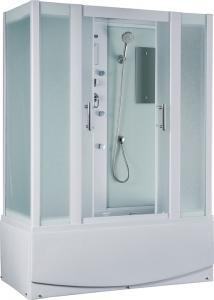 Душевая кабина Timo Eco TE-0770 структурное матовое стекло с ванной и гидромассажем