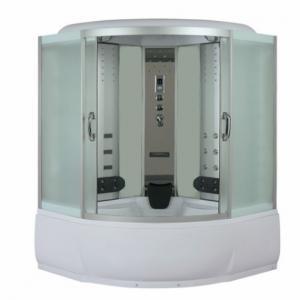 Душевая кабина River Temza 150/150/55 МТ матовое стекло с гидромассажем