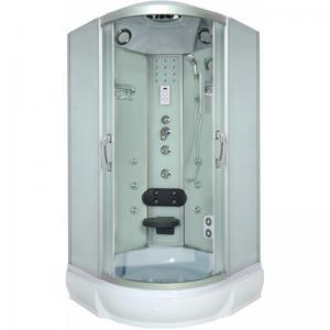 Душевая кабина River Temza 100/26 МТ матовое стекло с гидромассажем
