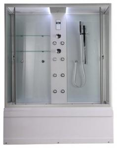 Душевая кабина Timo Lux TL-1501 с ванной и гидромассажем